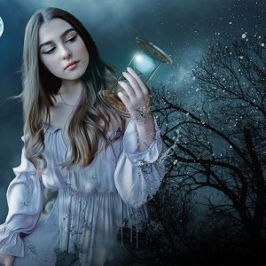 Tanara in vis de noapte - dictionar de vise