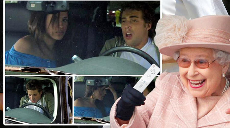 SEX-GATE la Casa Regală! Soția Prințului Harry, filmată făcând amor sălbatic în mașină. AVEM IMAGINILE