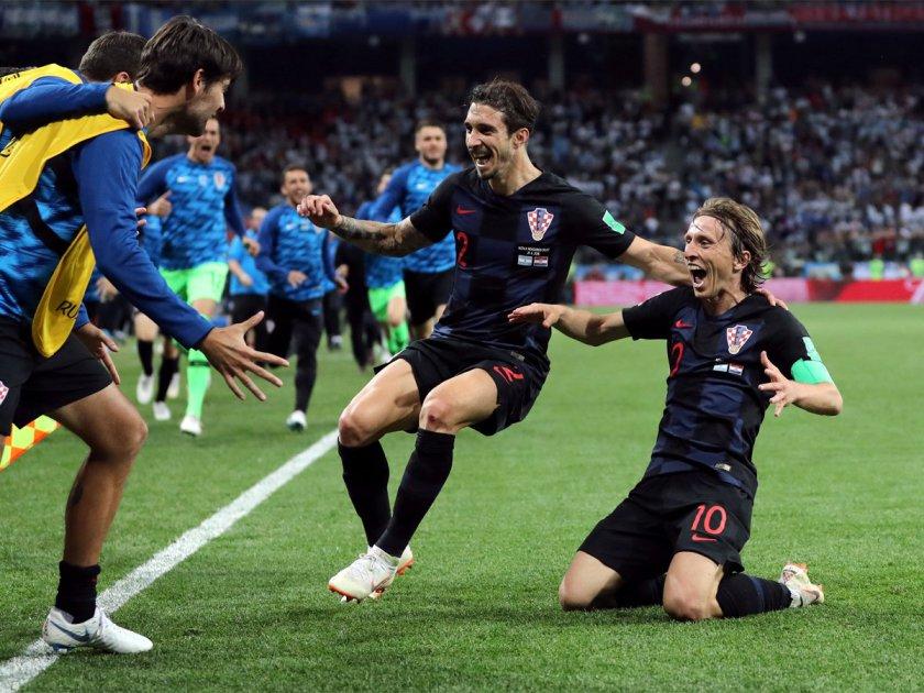 Croații au spulberat Argentina, 3-0