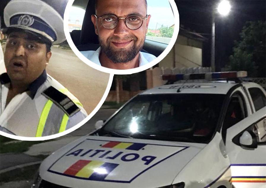 Oreste a fost oprit aseara, la 01.25 , de acest politist si i-a cerut sa-i arate ce are in portbagaj! Ce a urmat intrece orice imaginatie