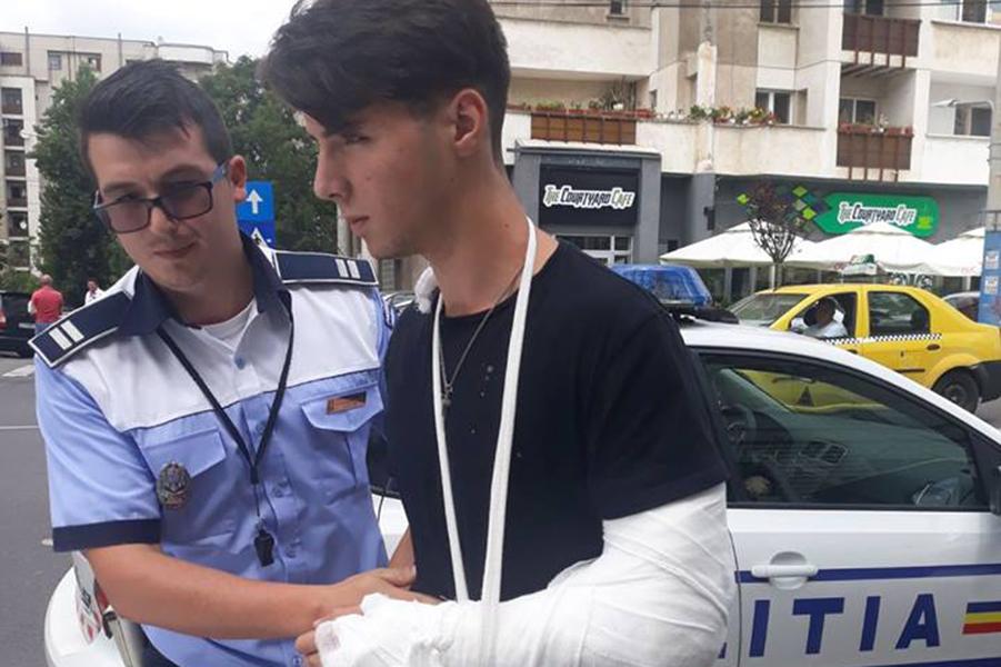 El e ucigasul din Craiova! Ce a postat pe FB imediat dupa accidentm, fiul judecatorilor
