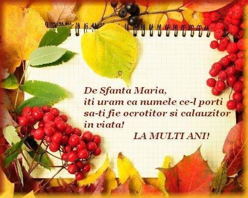 felicitari de sf maria La multi ani de Sfanta Maria ! ???   Open discussion   Play Arena felicitari de sf maria