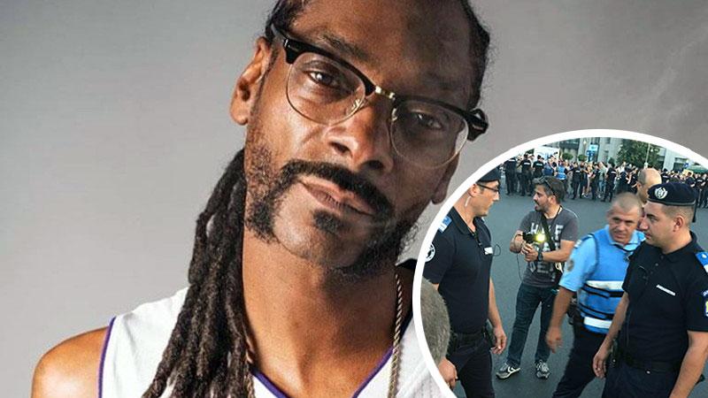 Snoop Dogg a publicat un filmuleț cu jandarmii români! În ce ipostază apar oamenii legii și ce a spus despre Romania
