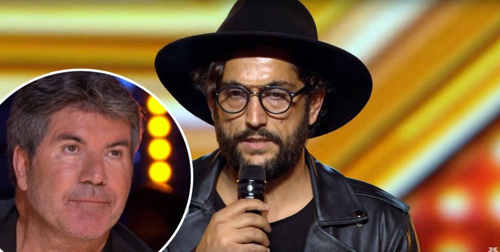 Cezar Ouatu, luat la mișto de Simon Cowell pe scena de la X Factor Marea Britanie! VIDEO