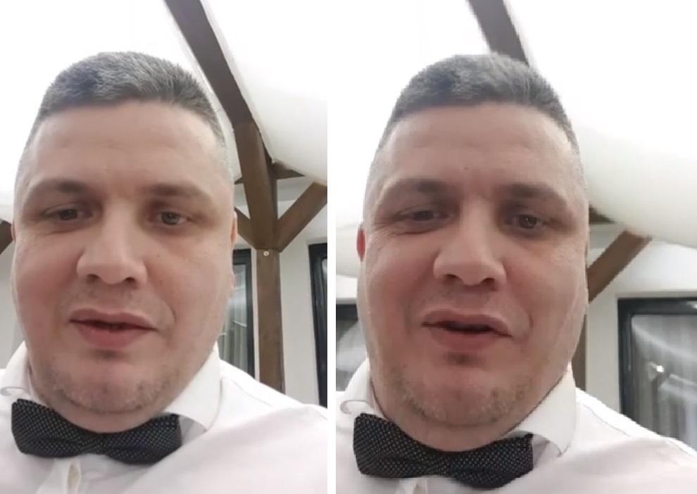Mircea Nebunu i-a adresat un mesaj agresorului lui Florin Salam, chiar în timpul nunții la care era naș