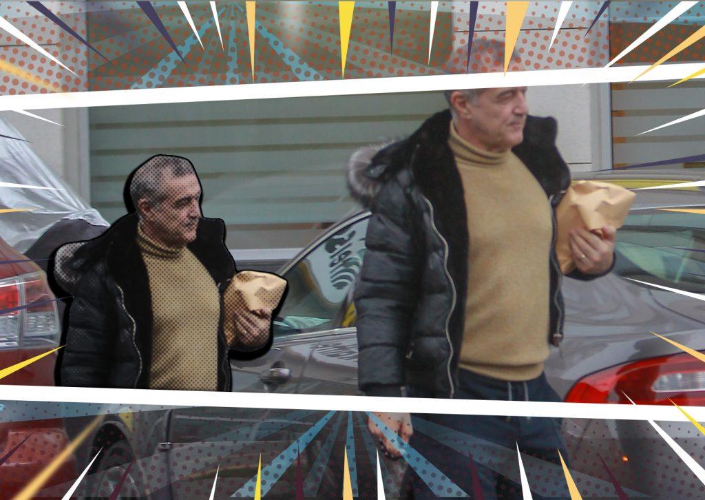 """Gigi Becali a dat spargerea la bancă, iar noi avem imaginile """"flagrantului""""!"""