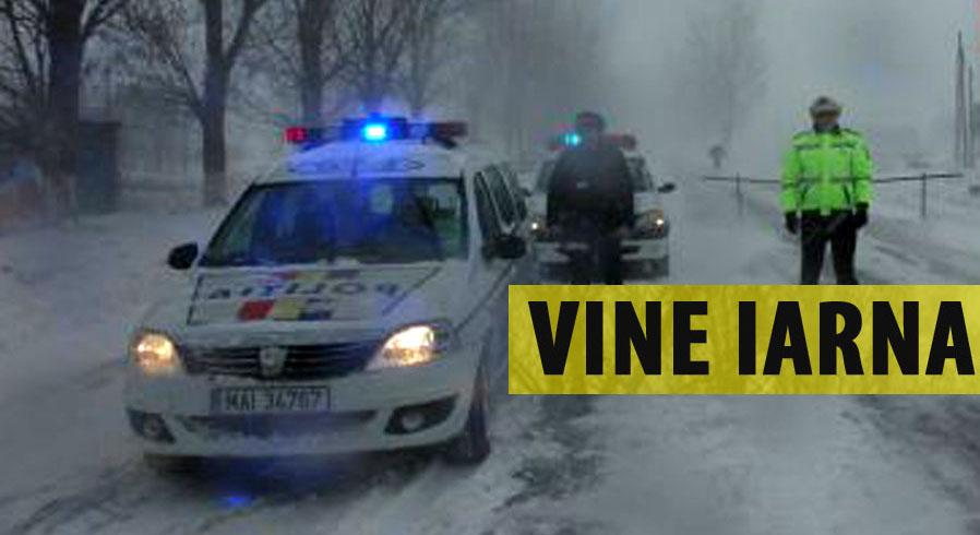 E oficial: pregatiti-va! Vine iarna in Romania! Cand incep ninsorile