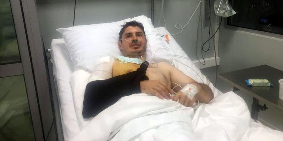 Soc in Romania! A fost implicat intr-un accident! Anuntul facut de pe patul de spital