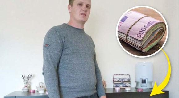 Stanciu din Timiș a gasit 95.000 de EURO într-o mobilă la mâna a doua! Ce a făcut cu banii întrece orice imaginație