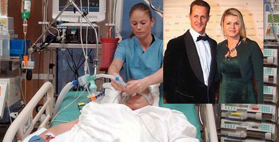 Imagini în premieră cu Michael Schumacher, publicate de familia sa