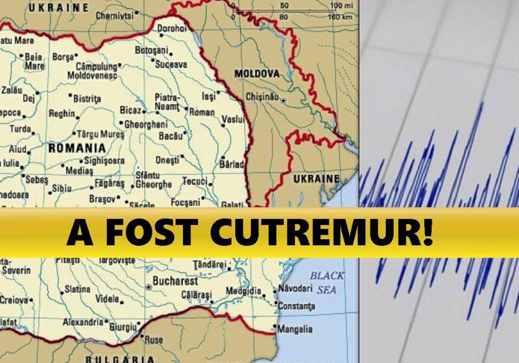 Cutremur în România la ora 12:52! L-aţi simţit?