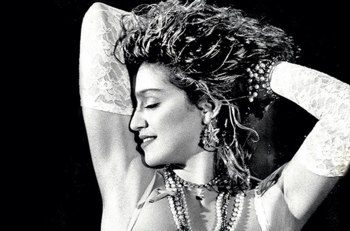 Madonna, la o vârstă fragedă