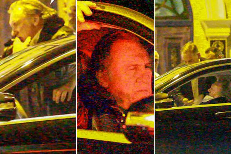 BEAT MORT! Gerard Depardieu, scos pe brațe dintr-un restaurant din București