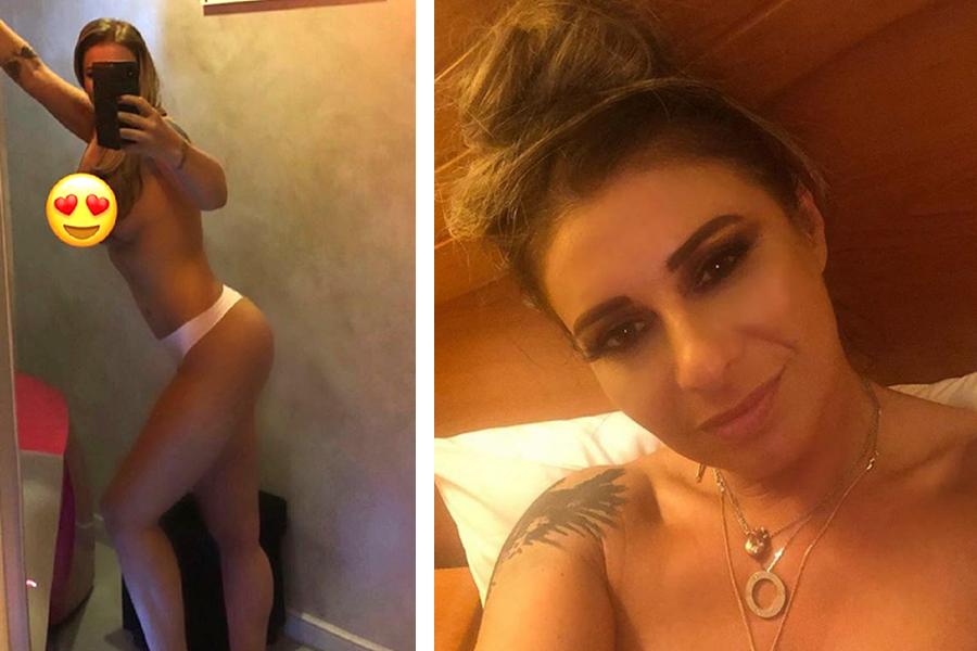 Imagine intimă cu Anamaria Prodan! A fost fotografiată fără haine pe ea, la balconului apartamentului în care locuiește