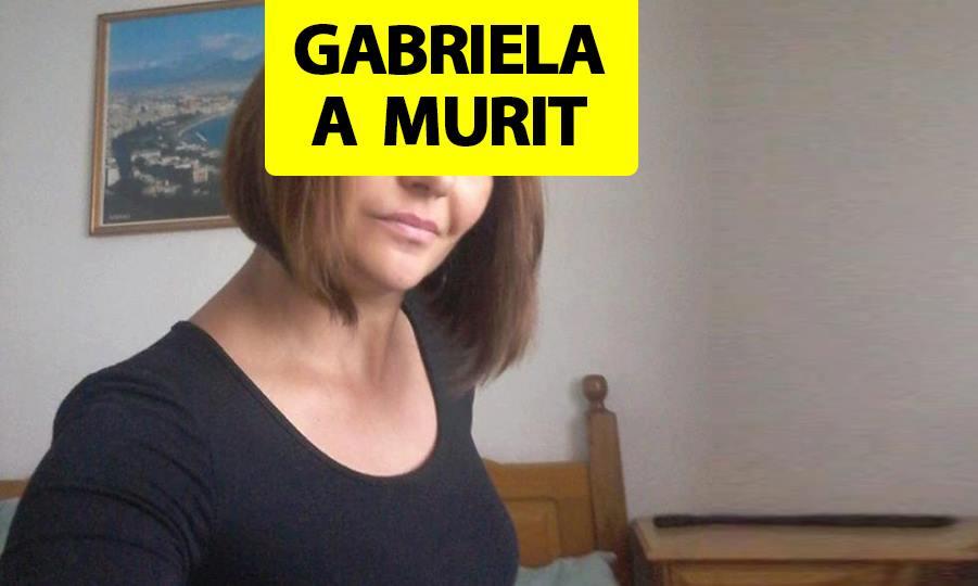 """""""Gabriela a murit"""". Doliu uriaș după vestea care a cutremurat România duminică la prânz"""
