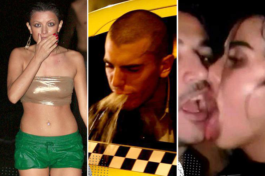 TOP 40 - Vedete din România prinse BETE MOARTE de paparazzi