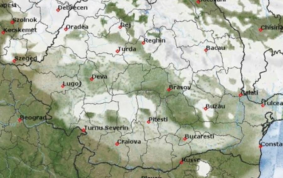 Vești proaste de la ANM. Astăzi se întorc temperaturile negative în România