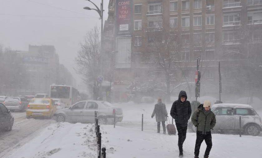 ANM a schimbat prognoza. Ninge în România astăzi, 20 martie 2019