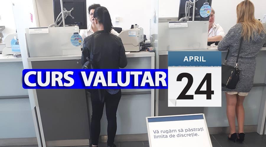 Curs valutar 24 aprilie 2019. Nu e o eroare. Câți lei costă 1 euro astăzi