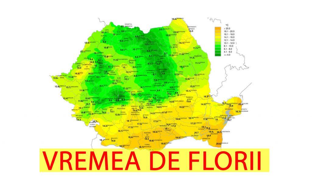 Vremea de Florii și de Paște! Meteorologii ANM au dat vestea tristă: zonele din România unde va ninge