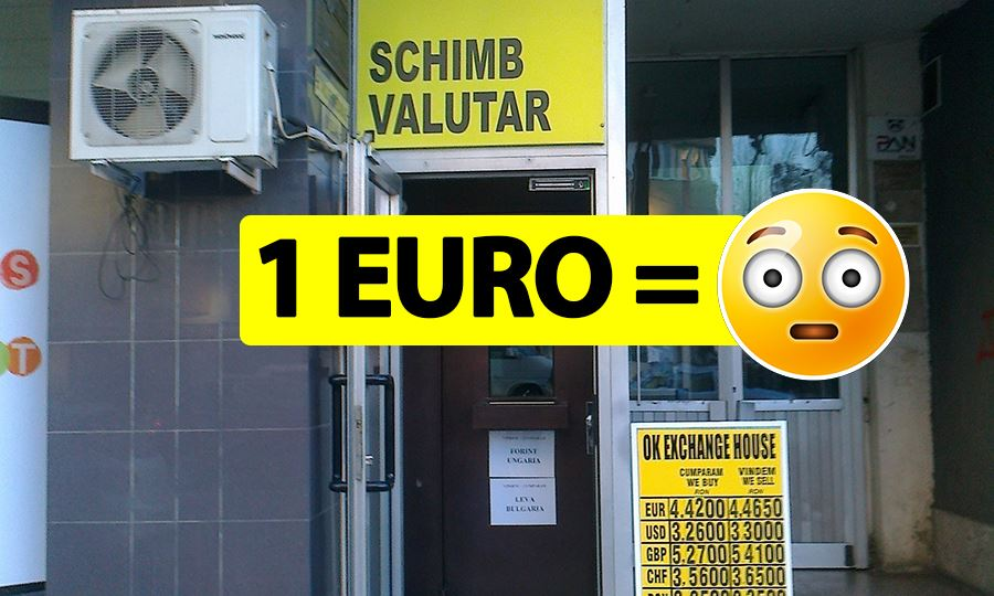 Curs valutar 22 aprilie. Cât a ajuns să coste 1 euro în prima zi a săptămânii, după Florii