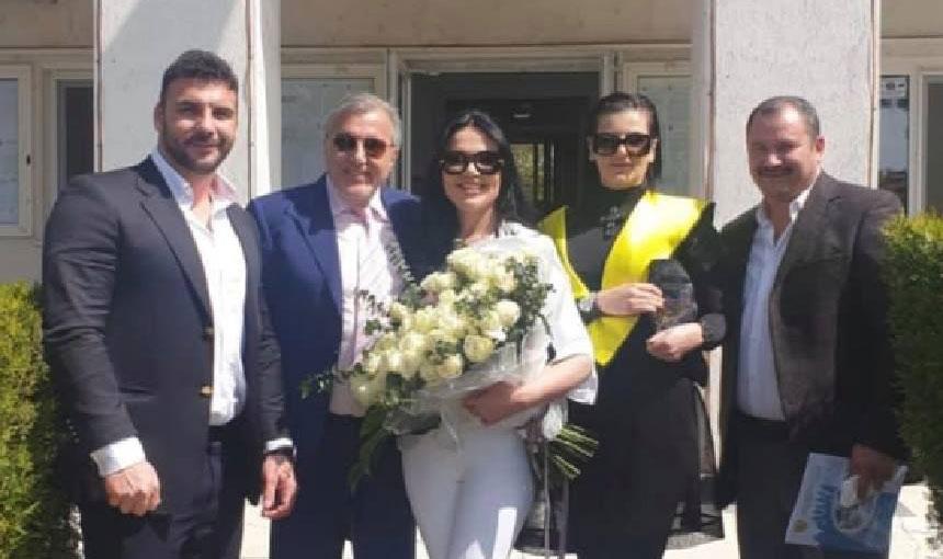 Ilie Năstase și Ioana s-au căsătorit! Imagini de la evenimentul de astăzi