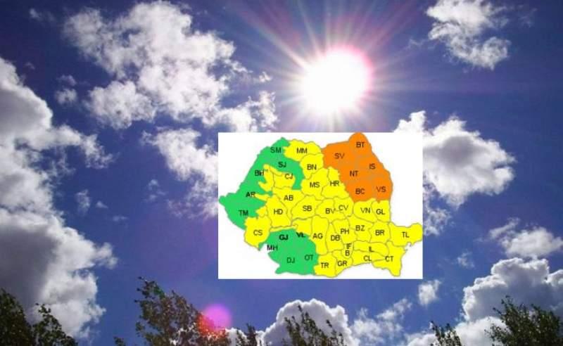Vești proaste de la ANM. Cum va fi vremea săptămâna viitoare în România