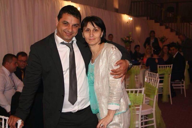 Dana și Ionel Ganea, în perioada când formau un cuplu