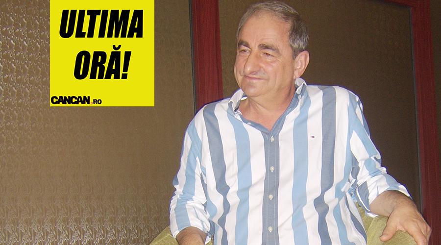 Veste tragică în România. Din păcate, e vorba despre Vasile Muraru