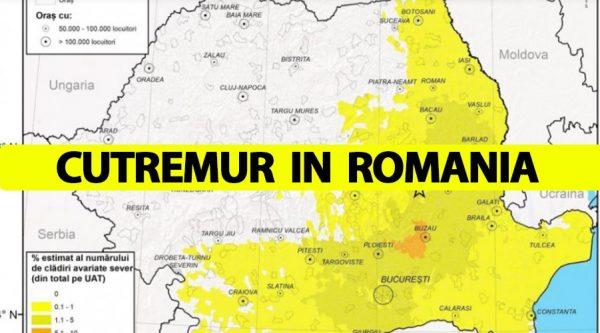 Cutremur însemnat în România, azi-dimineață la ora 6:08. Anunțul făcut de Institutul Național pentru Fizica Pământului