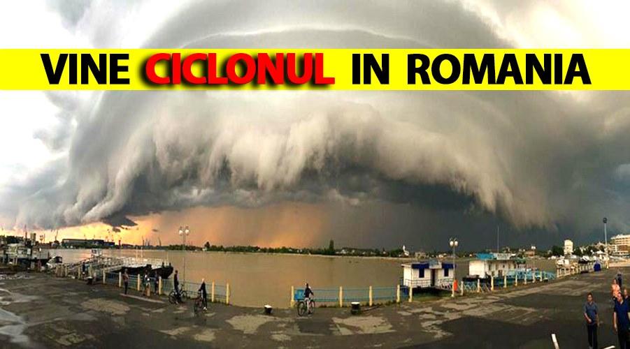 Vine ciclonul în România! ANM a făcut anunțul care a băgat frica în toți românii