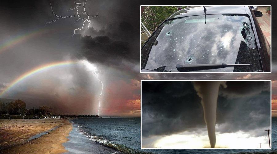 ANM a schimbat prognoza! Fenomene meteo periculoase. Românii sunt sfătuiți să se adăpostească