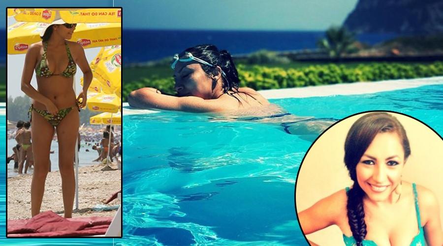 Avem singurele imagini cu Andra Măruță în bikini. Cum arată trupul ei, de fapt, și de ce îl ascunde