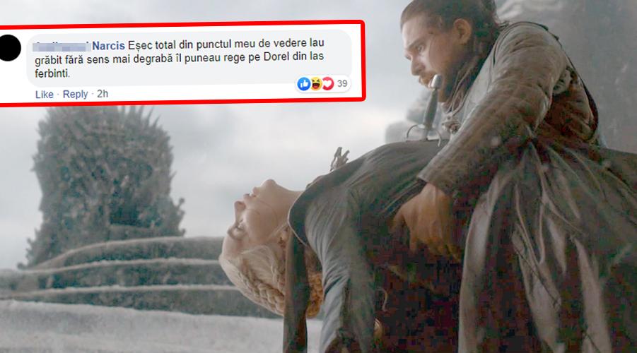 Șefii HBO au râs în hohote! Ce mesaj le-a trimis un tânăr din București după finalul penibil al serialului Urzeala Tronurilor