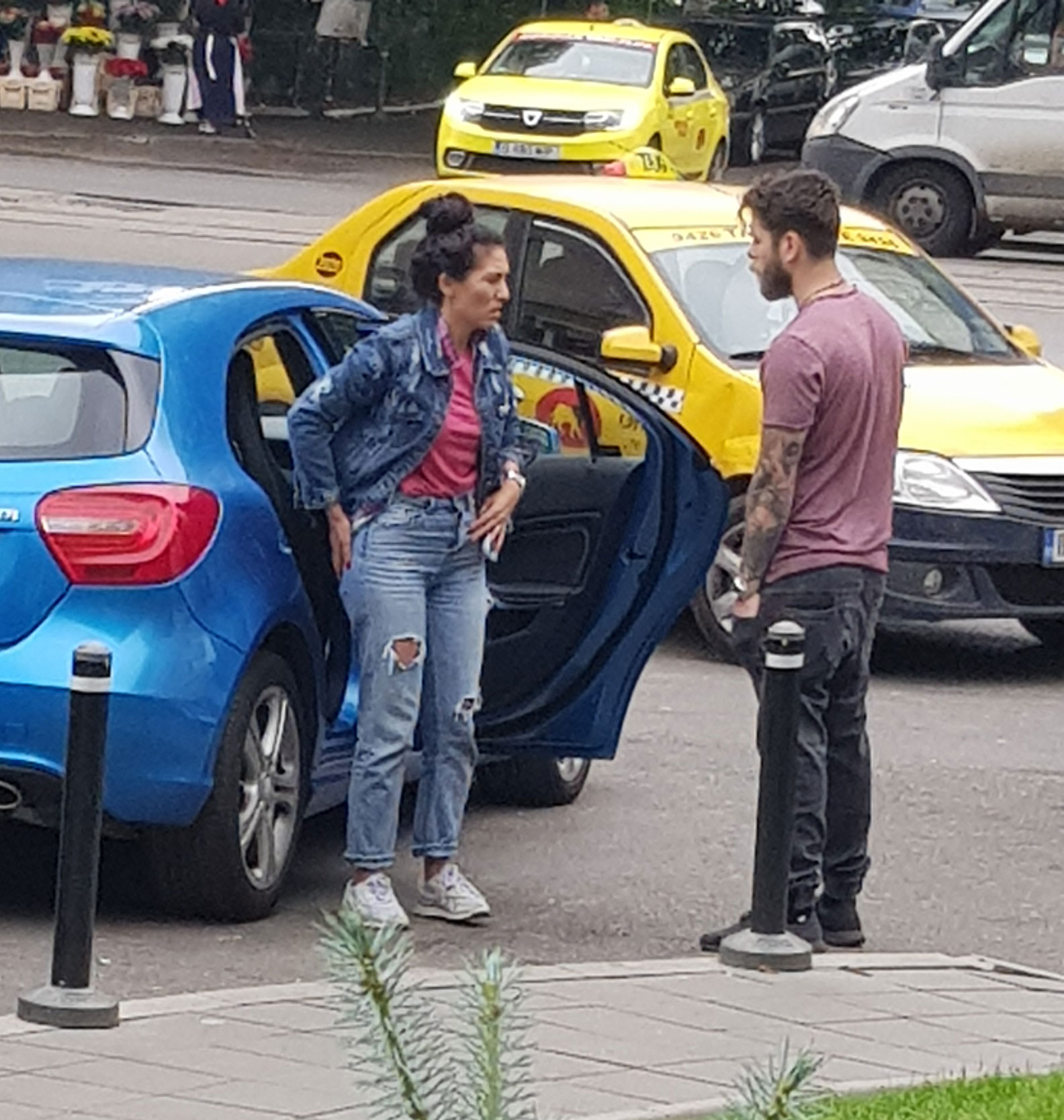 Doinița Oancea, scandal cu iubitul într-o parcare din București
