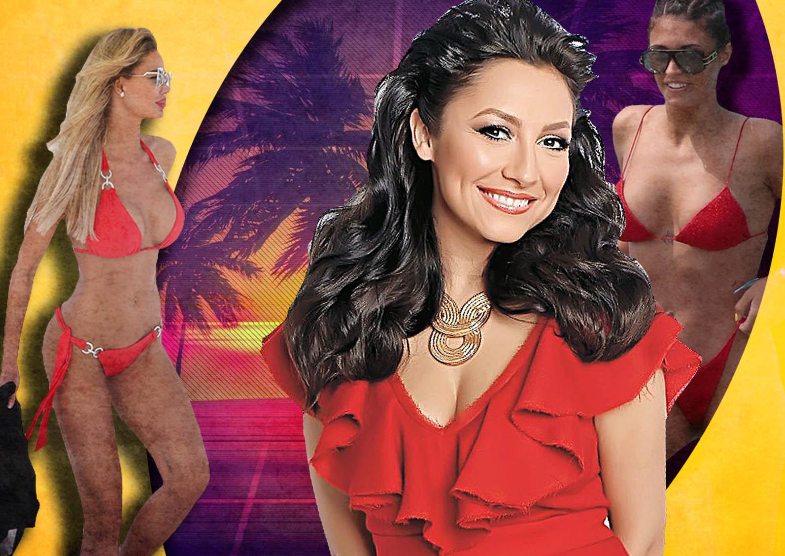 Top 50 – Cele mai sexy posterioare din showbiz. Ce poziții ocupă Andra Măruță și Bianca Drăgușanu