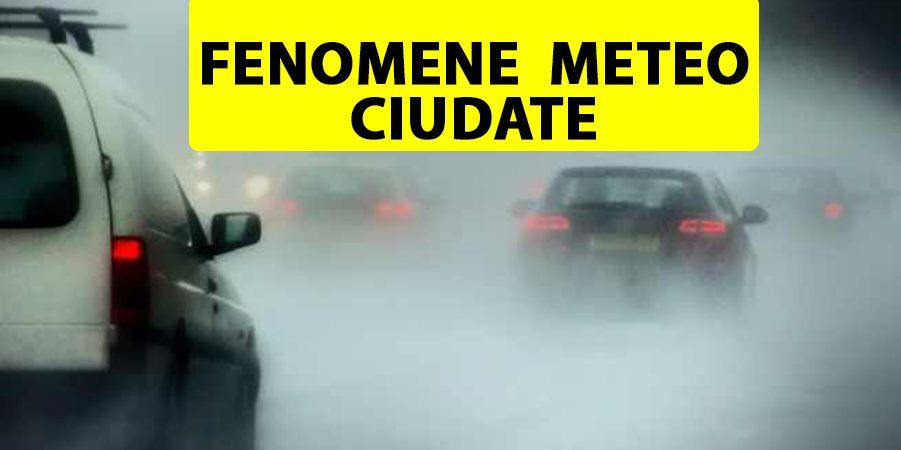 ANM, avertizare emisă luni dimineață, la ora 7:35. Fenomene meteorologice ciudate pentru luna iunie în România
