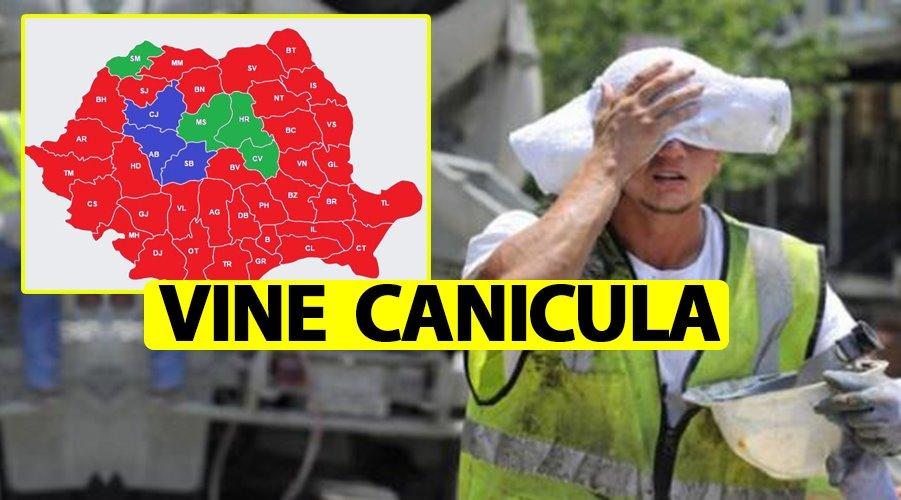 ANM, avertisment de caniculă severă în România. Vine valul deșertic maghrebian