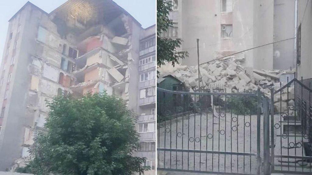 Știrea dimineții: un bloc cu nouă etaje s-a prăbușit în Moldova. Anunțul premierului pe Facebook