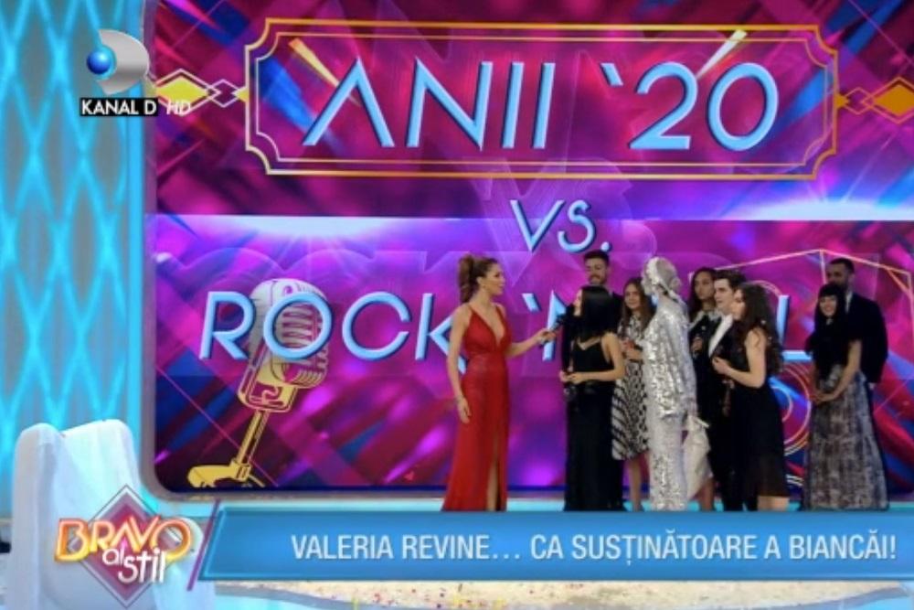 Valeria s-a întors în competiția de la Kanal D ca să o susțină pe concurenta Bianca.