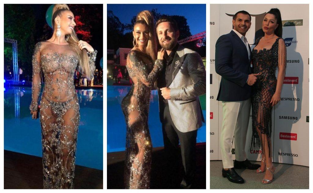 Când i-au văzut rochie, unii oameni au spus că Brigitte a copiat-o pe Prodanca. Sursa foto: Instagram/Instagram