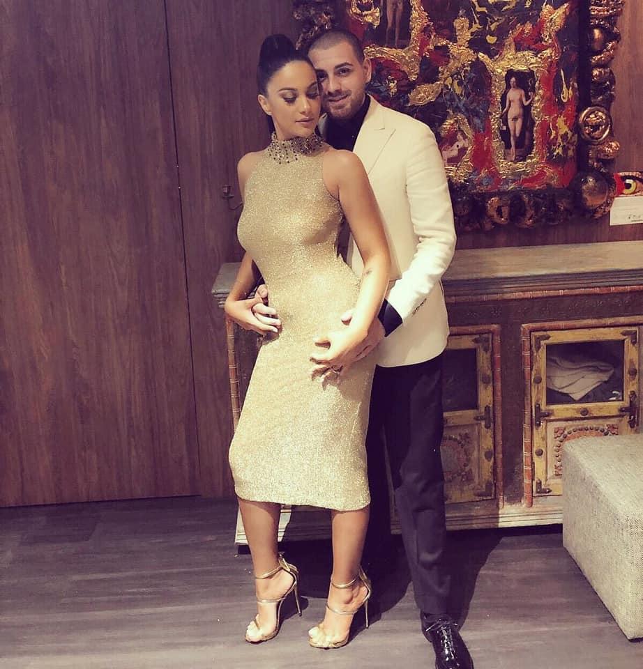 Betty și Cătălin Vișănescu au un băiețel împreună. Sursa foto: Facebook
