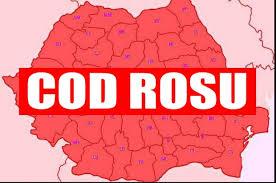 ANM: COD ROȘU. NU ieșiți din case dacă locuiți în aceste zone din România