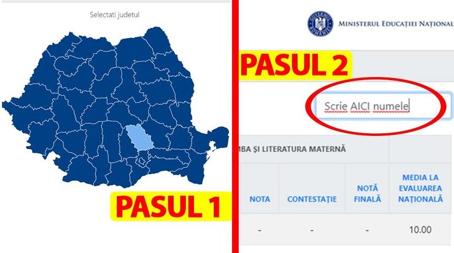 Rezultate Evaluarea Națională (Capacitate) 2019. Selectează județul, tastează numele și află ce notă ai luat pe evaluare.edu.ro