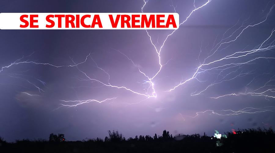 ANM, mesaj nou de vreme severă în România! La ce oră scăpăm de vremea rea
