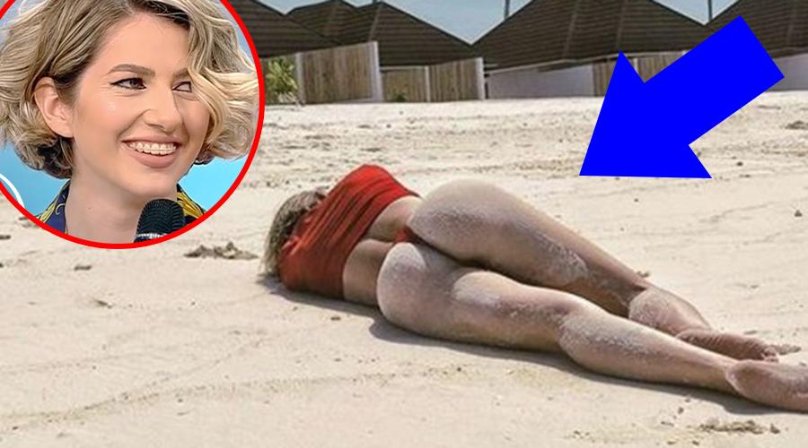 Detaliul vulgar observat de fani după ce Lidia Buble și-a fotografiat posterioul gol