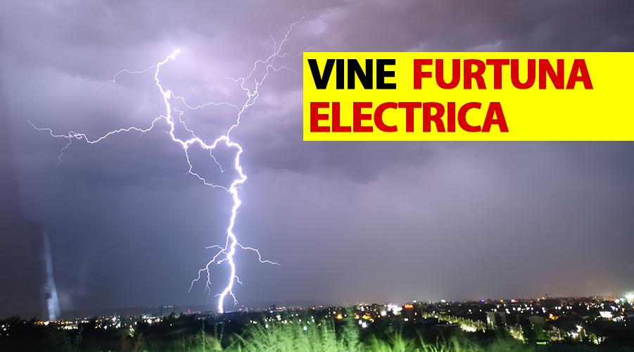 ANM anunță 11 ore extreme! Vine furtuna electrică în România