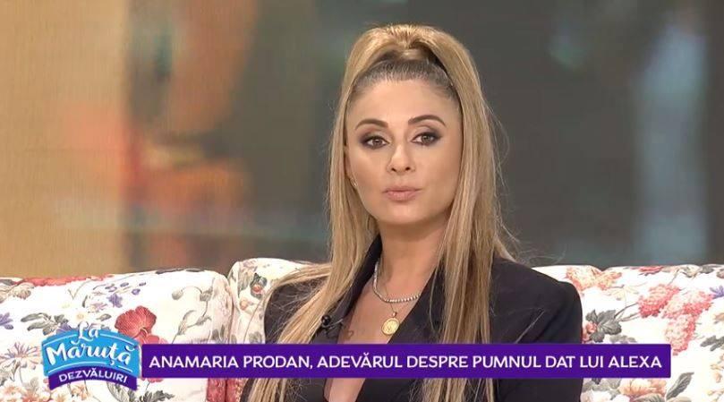 Imagini nedifuzate ieri de Pro TV din culisele emisiunii lui Cătălin Măruță. Ce a făcut Anamaria Prodan