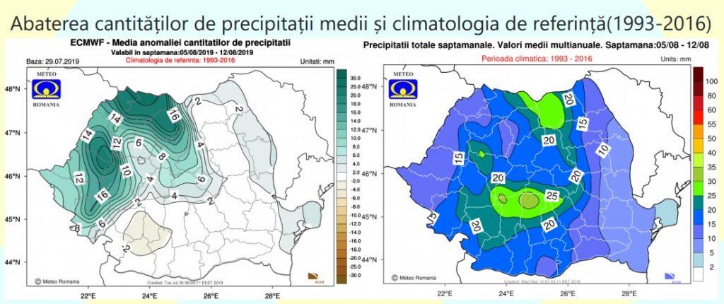 ANM a schimbat prognoza pentru România! Ce ne așteaptă în luna august © meteoromania.ro