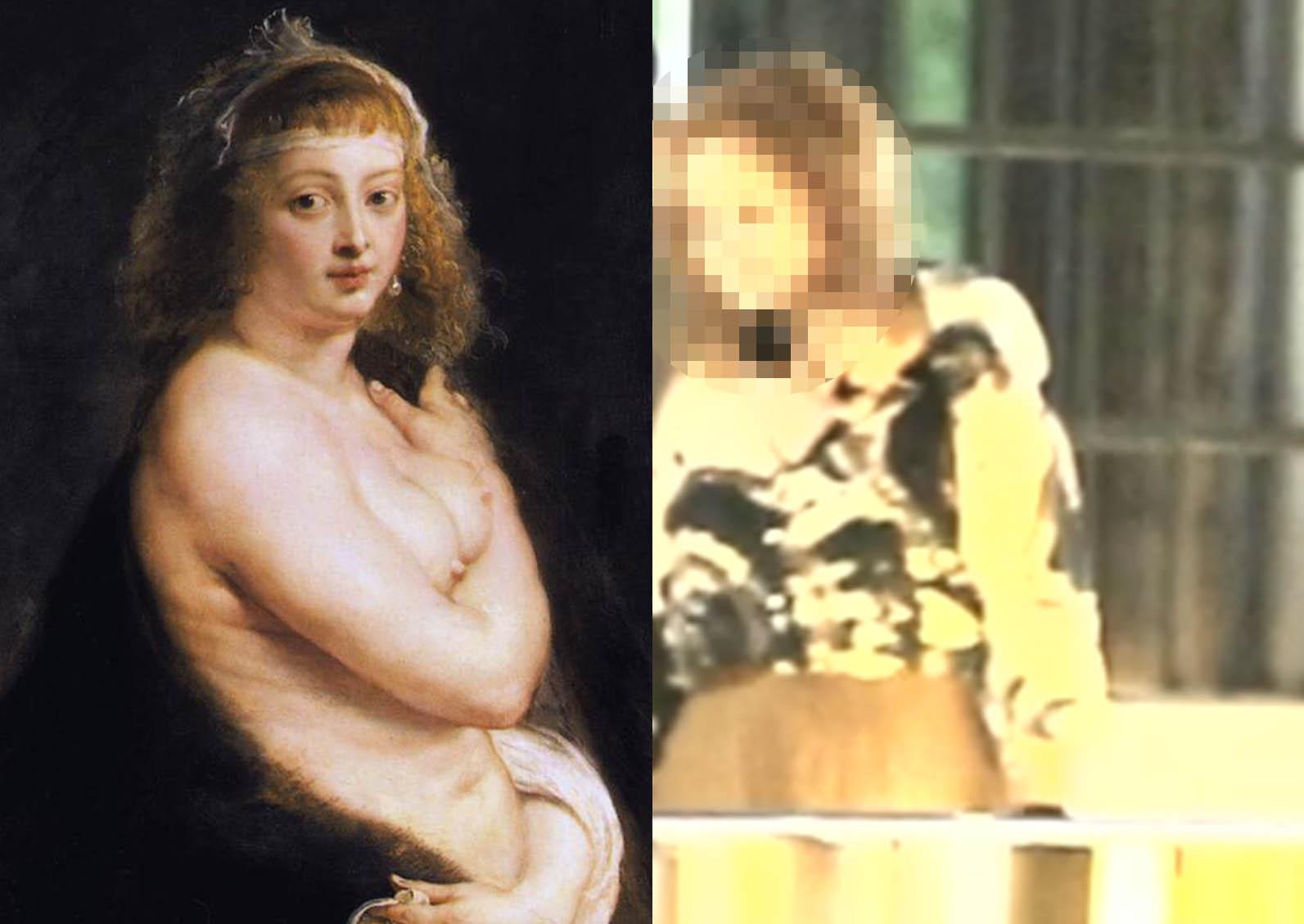 Adevărata rubensiană vs companioana baronului de Mehedinți